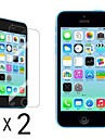 [2-Pack] Ultra Clear LCD Screen Guard Protector for iPhone 5C