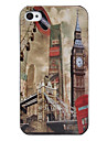 Vintage Tower Style Case for iPhone 4 and 4S (Brown)