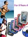 Gym Exécution de sport de bande de bras de couverture de caisse de brassard pour iPhone 4/4S (couleurs assorties)