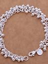 Femme Chaînes & Bracelets bijoux de fantaisie Plaqué argent Bijoux Pour Mariage Soirée Quotidien Décontracté Sports