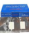 100pcs УФ ногтей Remover Tin Foil