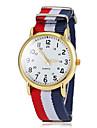 Женские Повседневные часы Спортивные часы Кварцевый Материал Группа Разноцветный