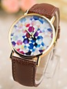 Women's Fashion Pu Rose Gold Box Quartz Watches(Assorted Colors)