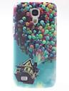 cas dur ballons colorés modèle de pc avec cadre noir pour mini-i9190 de Samsung galaxy