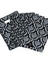 Simple Design Black Flame Ring Pattern Environmental Bag (45pcs)
