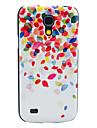 삼성 갤럭시 S4 미니 I9190를위한 다채로운 유리 파편 본 단단한 뒤 표지 케이스