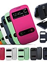 Double Touch Screen PU Leather Case for Samsung S3 9300(Assorted Colors)