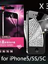 алмаз анти-излучения протектор экрана для iphone5/5s/5c (3шт)