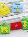 χαριτωμένο αποσπώμενη τσάντα και το πορτοφόλι σε σχήμα γόμα (τυχαία το χρώμα x 5 τεμ)