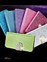 아이폰 5/5S를위한 조이 랜드 밝은 다이아몬드 패턴 PU 가죽 가득 차있는 몸 케이스 (분류 된 색깔)