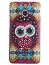 Diamond Owl Design PC Hard Case for HTC ONE M7