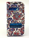 Caso Open Window Classical Pattern Flores Twinkle Couro para Samsung Galaxy S3 I9300