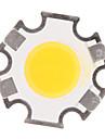 3W COB 280-320LM 3000K теплый белый свет Светодиодные Чип (9-11V, 300uA)