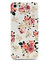 Peony Rose Flower Pattern Hard Case for iPhone 5/5S
