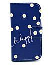 용 삼성 갤럭시 케이스 케이스 커버 지갑 카드 홀더 스탠드 플립 패턴 풀 바디 케이스 꽃장식 인조 가죽 용 Samsung S3 Mini