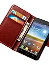 Retro PU Leather Case For LG Optimus L7 P700 with Stand Fuction and Card Holders