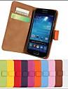 Конфеты Цвет Натуральная кожа Полный Дело Корпус с ремешком и наклейка для Samsung Galaxy S i9000