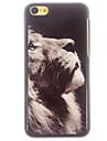 caso difícil padrão leão alumínio para iphone 5c