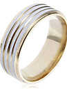 Ring Party / Daily / Casual Jewelry Stainless Steel Women Band Rings6 / 7 / 9 / 8½ / 9½ Gold