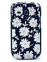 용 삼성 갤럭시 케이스 패턴 케이스 뒷면 커버 케이스 꽃장식 PC Samsung S3 Mini