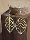 Vintage (árvore) Bronze Copper brincos (Gold) (1 par)