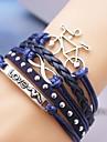 Bracelet Bracelets Bracelets en cuir Cuir Amour Original Mode Mariage Soirée Quotidien Décontracté Sports Regalos de Navidad Bijoux Cadeau
