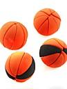 милый съемный баскетбол форме ластик (случайный цвет х 2 шт)