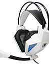 SADES SA709 Headphone 3.5mm Over Ear Gaming Stereo Bass Hi-Fi with Microphone for PC