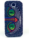 Monster Cat Pattern Hard Case Cover for Samsung Galaxy S4 I9500