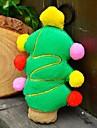 Fête de Noël en peluche grincement jouet pour animaux de compagnie Chiens (Arbre de Noël)