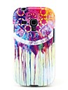 Soft Case TPU Padrão Dreamcatcher Graffiti para Samsung Galaxy S3 Mini I8190