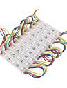 z®zdm 7W 30x5050smd RGB LED свет пластиковый модуль оболочки прямоугольник (DC 12V)