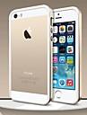 Pour Coque iPhone 5 Antichoc Coque Antichoc Coque Couleur Pleine Flexible PUT pouriPhone 7 Plus iPhone 7 iPhone 6s Plus/6 Plus iPhone