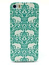 Flower Elephant Carpet Pattern Hard Case for iPhone 5/5S