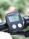 ROSWHEEL LCD 14-функциональный водонепроницаемый велосипедный компьютер-спидометр (черный)