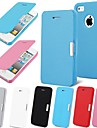 Magnetic Pouch Flip Leather Case for iPhone 5/5S (Assorted Colors)