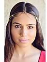 shixin® headbands moda borla dourada do vintage (1 pc)