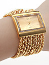 Women's Watch Bracelet Strap Watch Gold Diamond Case Alloy Band Cool Watches Unique Watches Fashion Watch