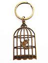 старинные клетка для птиц бронзовый сплав брелок (1 шт)