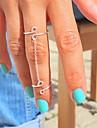 Shixin® Classic Silver Lucky 8 Shape Midi Ring(1 Pc)