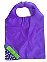 экологически чистый синий виноград складной дизайн хозяйственная сумка