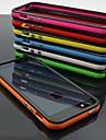 아이폰 4 / 4S에 대한 DF 듀얼 컬러 프레임 TPU 소프트 케이스 (모듬 된 색상)