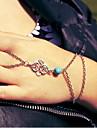 shixin® классический синий смола серебро браслет (1 шт)