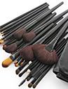 32pcs Conjuntos de pincel Pêlo Sintético / Escova Poney / Escova de Cabelo de Cabra / Cavalo Rosto / Lábio / Olhos