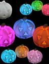 abóbora rotocast noite luz que muda de cor