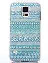 cor decoração de cinco pontas caso difícil estrelas e corações padrão de plástico para Samsung i9600 s5