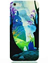 Animals in Mountain Pattern Hard Case for iPhone 5/5S