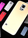 DF Luxury High Quality Solid Color Brushed Aluminium Hard Case for Samsung S5 I9600 (Assorted Color)