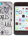 мистик зона популярная группа The Beatles шаблон шт жесткий футляр для iPhone 5с
