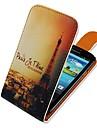 torre de ferro de cima para baixo turn over pu couro caso de corpo inteiro para i9300 Samsung Galaxy S3